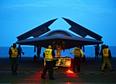X-47B unmanned combat air vehicle