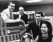 Particle physics and IBM computer,1966