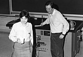 Gail Hanson and John Stack,US physicists