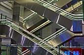 Escalators at Dubai airport