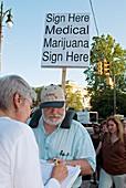 Campaign to legalise medical marijuana