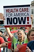 Healthcare reform campaign,USA