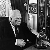 Patrick Moore,British astronomer