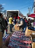 Hurricane Sandy disaster relief
