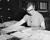 Charlotte Sitterly,American astronomer