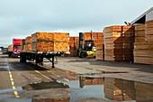 Lumber cargo