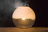 White phosphorous combustion
