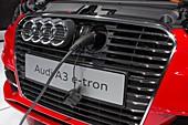 Audi A-3 e-tron electric car