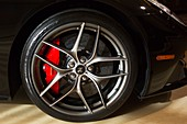 Wheel of a Ferrari Berlinetta