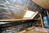 Multi-foil roof insulation