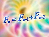 Fibonacci sequence equation