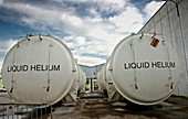 Helium tanks at CERN