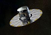 Gaia space probe,artwork