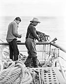 Antarctic ocean soundings,1910