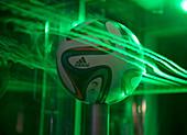 2014 World Cup football aerodynamics