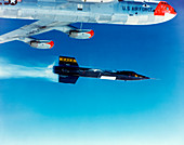 X-15 launch from a Boeing B-52,1960