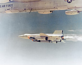 X-15 launch from a Boeing B-52,1967