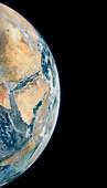 Arabian Peninsula,satellite image