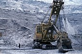 Diamond mine,Siberia,Russia