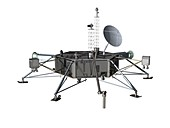 Europa space probe lander,artwork