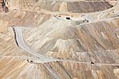 Copper mine,Arizona,USA