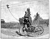 Early trolleybus system,19th century
