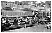 Carpet weaving in Turkey,19th century