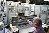 Titan missile control room