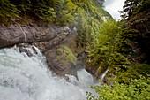 Waterfalls in the Ordesa valley,Spain