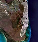 Florida,Landsat 5 image