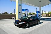 Hydrogen fuelling station,USA