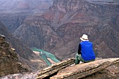 Inner canyon and river,Grand Canyon