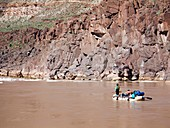 Rafting the Colorado,Grand Canyon