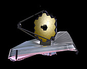 James Webb Space Telescope,illustration
