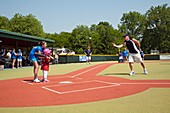 Disabled baseball game