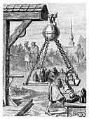 Magdeburg vacuum experiment,1650s