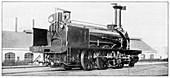 La Vaux locomotive,historical image