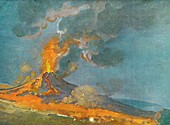 Vesuvius In Eruption 1774