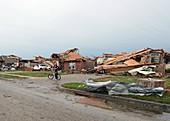 Tornado aftermath,Oklahoma,USA,2013