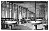 Diamond polishing machines,19th century