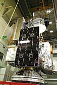 GPM rainfall satellite testing