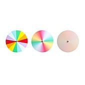 Newton's disc experiment