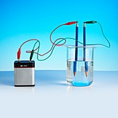 Electrolysis of water