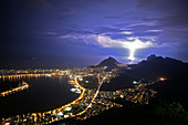 Storm over Rio de Janeiro,Brasil