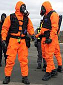 Radiation emergency response workers