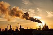 Tar sands upgrader plant Syncrude mine