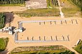 SAG D tar sands plant