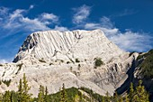 Roche Miette in the Canadian Rockies