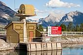 Rundle hydro power plant,Canada