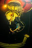 Saturation dive training